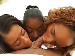 Group Sex;Anal Sex;Double Penetration;Ebony;Interracial;Swallow